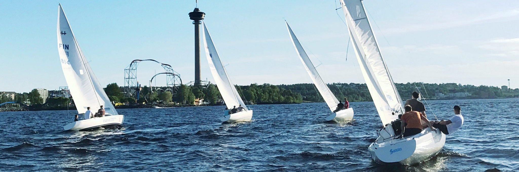 Johdatus purjehdukseen on paras purjehduskurssi Tampere