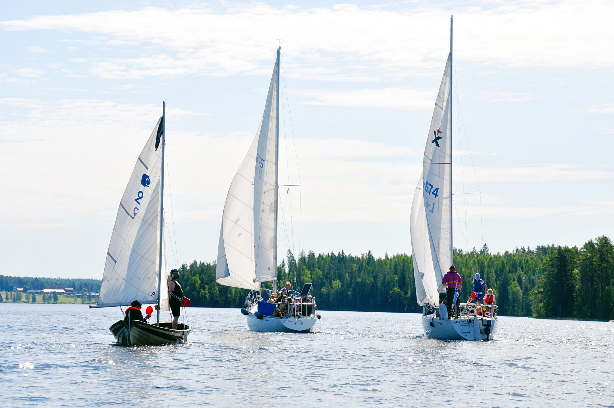 purjehduskurssi Tampere järjestetään vuosittain